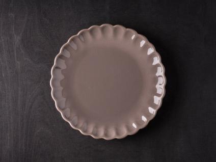 IB Laursen MYNTE Kuchenteller Braun Keramik Teller 21 cm MILKY BROWN Geschirr - Vorschau 1