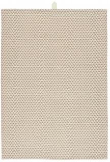 IB Laursen Geschirrtuch Creme Weiß Muster Faded Rose Baumwolle Geschirrhandtuch