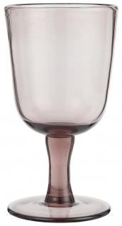 IB Laursen Rotwein Glas Malve 250 ml 8x15 cm Weinglas Glas Trinkglas