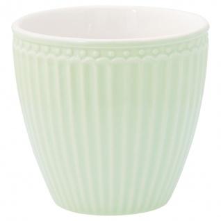 Greengate Latte Cup Becher ALICE Hellgrün Everyday Geschirr PALE GREEN 300 ml