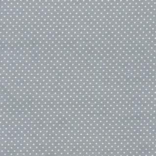 AU Maison Wachstuch Dots Dusty Blue Meterware Tischdecke Abwaschbar 140 cm