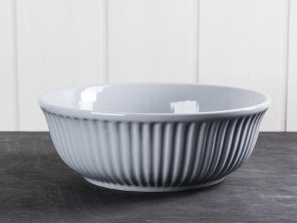 IB Laursen MYNTE Servierschale 21 cm Grau Keramik Geschirr Schüssel FRENCH GREY - Vorschau 1