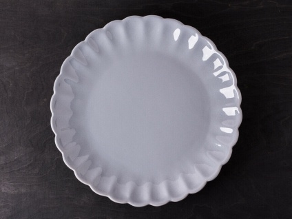 IB Laursen MYNTE Essteller Grau Keramik Teller FRENCH GREY 28 cm Speiseteller