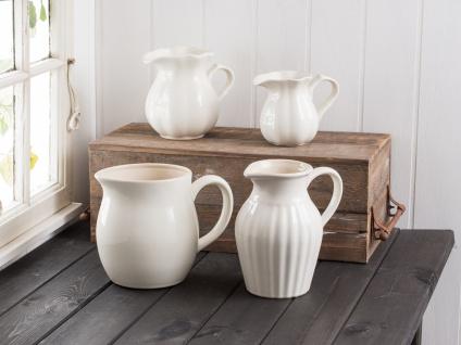 IB Laursen MYNTE Kanne 1.7 Liter Creme Weiß Keramik Geschirr BUTTER CREAM Krug - Vorschau 3