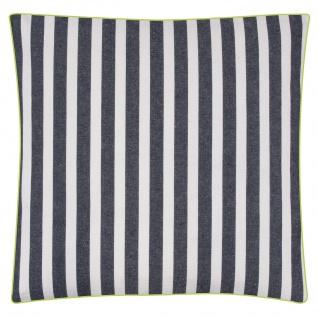 Pad Sitzkissen CHETTO Streifen Kissen blau weiß gestreift Kissenhülle Pad Concep - Vorschau 4