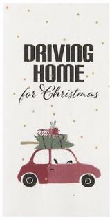 IB Laursen Servietten - Driving Home for Christmas - 40x40 Papier Weihnachten