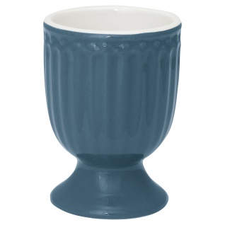 Greengate Eierbecher ALICE Blau 6.5 cm Keramik Everyday Geschirr OCEAN BLUE