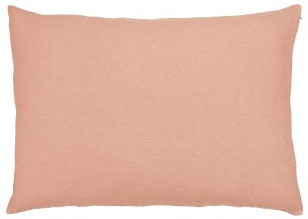 IB Laursen Kissenhülle Leinen Desert Rose Kissen 50x70 Kissenbezug Rosa