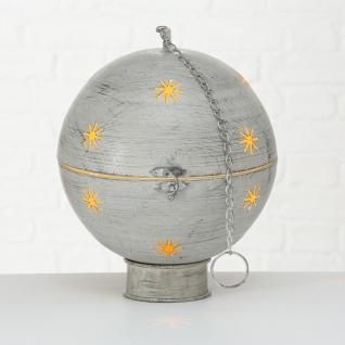 Kugel GLORY 30 cm Metall Hänger Kette Deko Aufsteller Weihnachten Weihnachtsdeko