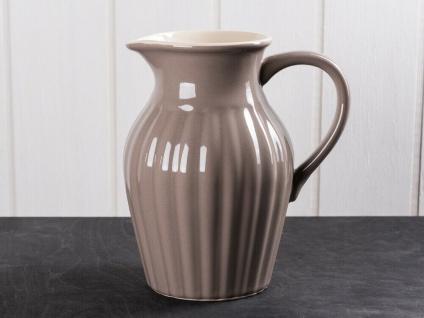 IB Laursen MYNTE Kanne 1.7 Liter Braun Keramik Geschirr MILKY BROWN Krug Karaffe