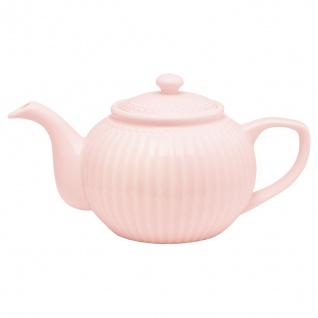 Greengate Teekanne ALICE Rosa Kanne 1 Liter Everyday Geschirr Teapot PALE PINK