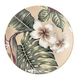 Bloomingville Teller Aruba Blumen Blüten Keramik Geschirr Kuchenteller Frühstück