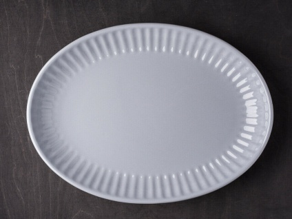 IB Laursen MYNTE Servierplatte 30 cm Grau Keramik Geschirr Teller FRENCH GREY
