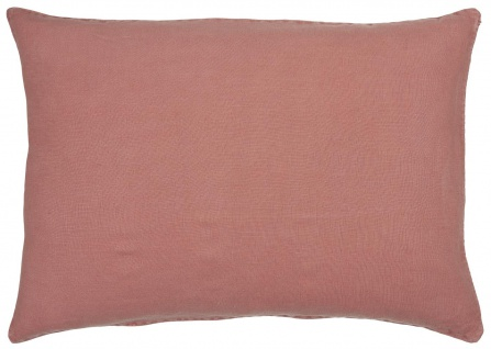 IB Laursen Kissenhülle Leinen Faded Rose Kissen 50x70 Kissenbezug Zierkissen
