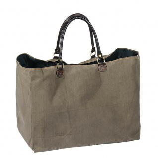 Pad Tasche KARO olive Strandtasche Sporttasche Pad Concept Einkaufstasche Shoppe