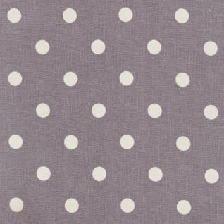 AU Maison Wachstuch Dots Big Misty Rose Meterware Tischdecke Abwaschbar 140 cm