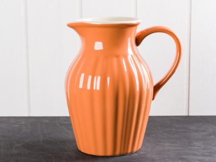 IB Laursen MYNTE Kanne 1.7 L Orange Keramik Geschirr PUMPKIN SPICE Krug Karaffe