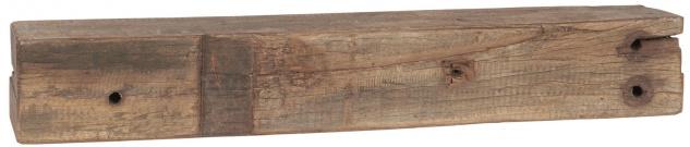 IB Laursen Regal UNIKA Holz recycelt 50-65 cm Unikat Wandregal Vintage Deko