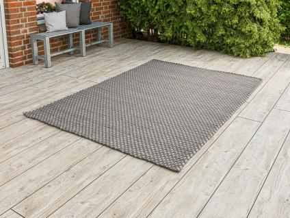 PAD Outdoor Teppich JIM Grau Beige 170x240 Matte Fussmatte Pad Concept Badematte