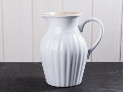 IB Laursen MYNTE Kanne 1.7 LITER Weiß Keramik Geschirr PURE WHITE Krug Karaffe