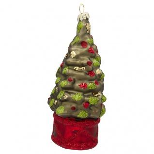 Greengate Tannenbaumhänger WEIHNACHTSBAUM Grün Christbaumschmuck Weihnachtskugel