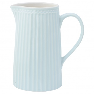 Greengate Krug ALICE Blau Kanne 1 Liter Everyday Geschirr Karaffe PALE BLUE