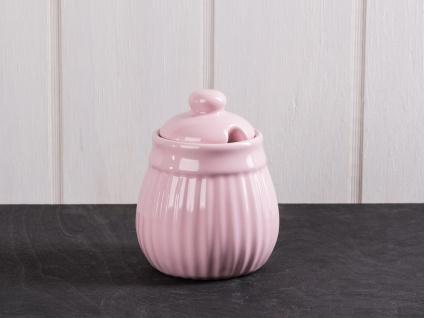 IB Laursen MYNTE Zuckerschale Rosa Zuckertopf ENGLISH ROSE Keramik Geschirr
