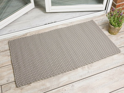Pad Outdoor Matte UNI SAND BEIGE 72x132 Fussmatte Teppich Pad Concept Fußmatte