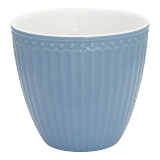 Greengate Latte Cup Becher ALICE Blau Everyday Geschirr SKY BLUE 300 ml Hellblau