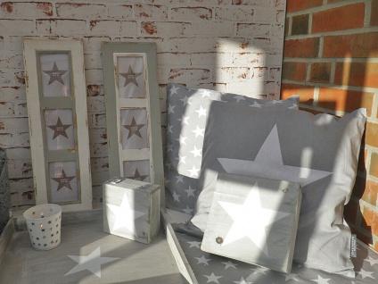 Bilderrahmen Newcastle für 3 Fotos. im Retro Style aus Holz in weiß. 60 x 19.5cm - Vorschau 4