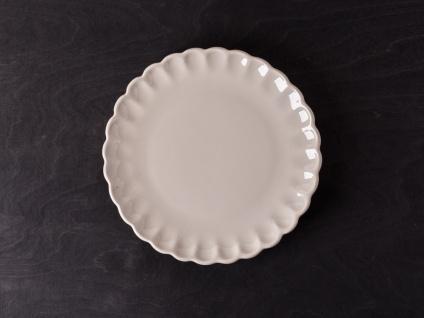 IB Laursen MYNTE Kuchenteller Beige Keramik Teller 21 cm LATTE Geschirr