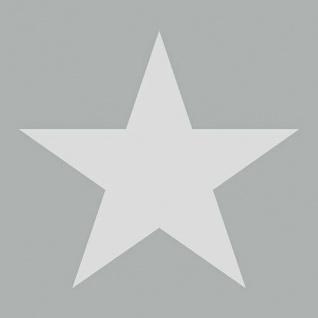 Ambiente Servietten STAR MAGENTA 20 Stück Pink STERN weiß 3-lagig 33x33 Papier