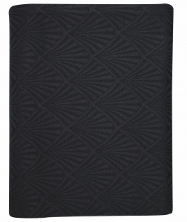 Greengate Tischdecke CELINE Schwarz Baumwolle 150x350 cm Tischdeko Hochzeitsdeko