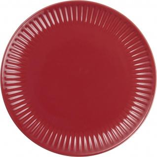 IB Laursen MYNTE Frühstücksteller Rot Keramik Teller 19 cm STRAWBERRY Geschirr