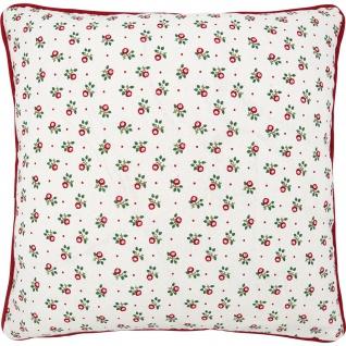 Greengate Kissen ABI PETIT 40x40 Kissenhülle Kissenbezug Blumen Baumwolle