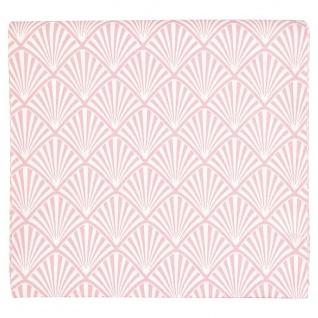 Gate Noir GreenGate Tischdecke Celine Pale Pink rosa Fächer Muster 145x250 cm - Vorschau