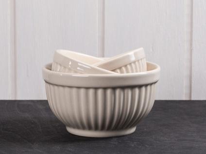 IB Laursen MYNTE Schalensatz Mini Latte beige Schüsseln Keramik 3er Set Schalen