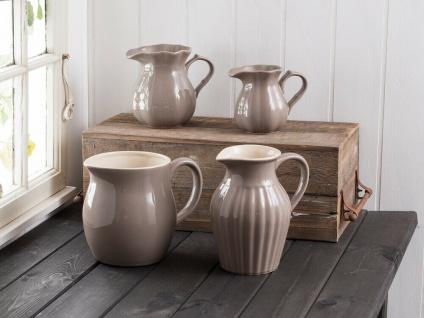 IB Laursen MYNTE Kanne 0.45 L Braun Keramik Geschirr MILKY BROWN Krug Karaffe - Vorschau 2