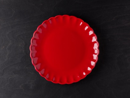 IB Laursen MYNTE Kuchenteller Rot Keramik Teller 21 cm STRAWBERRY Geschirr