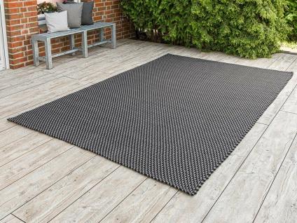 PAD Outdoor Teppich POOL Grau Schwarz 200x300 Concept Matte Badematte 2x3 Meter