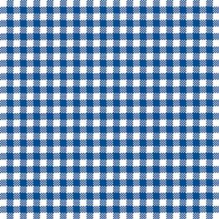 Ambiente Servietten VICHY BLUE 20 Stück Karo weiß blau kariert 3-lagig 33x33