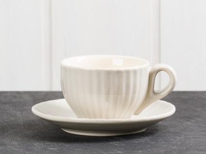 IB Laursen MYNTE Espresso Tasse Beige mit Untertasse LATTE Keramik Geschirr