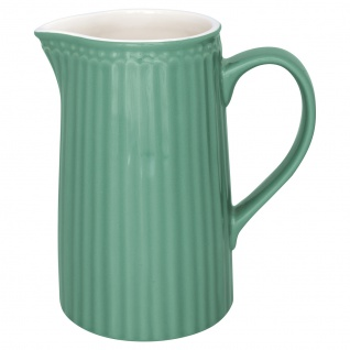 Greengate Krug ALICE Grün Kanne 1 Liter Everyday Geschirr Karaffe DUSTY GREEN