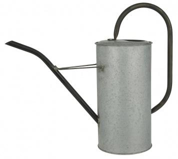 IB Laursen Gießkanne Zink Grau 2.7 Liter Metall Blumengießkanne Wasser Kanne