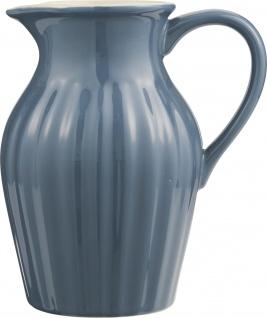 IB Laursen MYNTE Kanne 1.7 Liter BLAU Keramik Geschirr CORNFLOWER Karaffe Krug