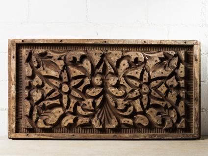 IB Laursen Stuckform UNIKA Holz 42x83 Unikat Vintage Deko Objekt Holzform Alt - Vorschau 1