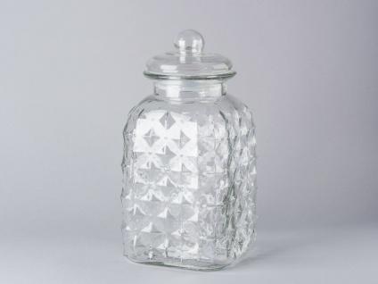 Bloomingville Vorratsdose Glas mit Deckel 31 cm Vorratsglas 3.400 ml