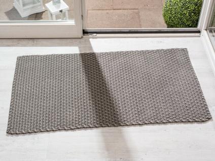 Pad In / Outdoor Matte POOL Grau Beige 72x132 Fussmatte Badezimmermatte Teppich - Vorschau 1