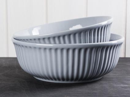 IB Laursen MYNTE Servierschale 21 cm Grau Keramik Geschirr Schüssel FRENCH GREY - Vorschau 2