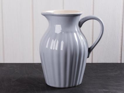 IB Laursen MYNTE Kanne 1.7 Liter Grau Keramik Geschirr FRENCH GREY Krug Karaffe